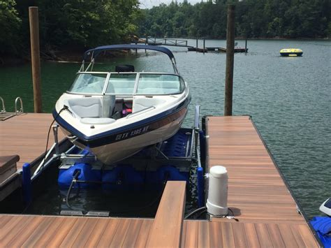 Floating A Boat Lift by Hydrohoist Floating Boat Lifts And Pwc Lifts