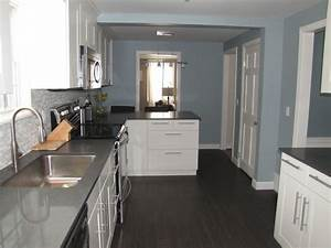 slate blue paint color contemporary kitchen benjamin With what kind of paint to use on kitchen cabinets for kentucky wall art