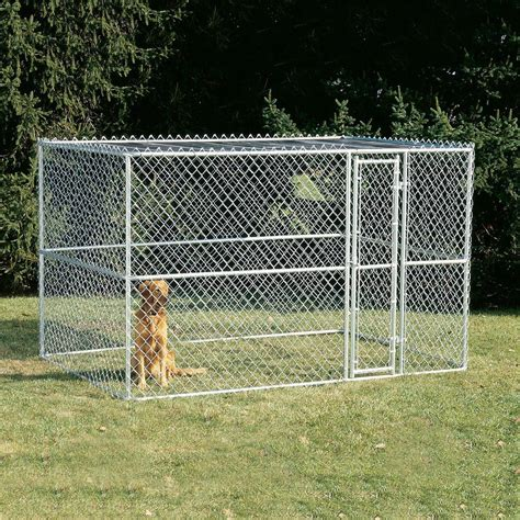 outdoor kennel shop midwest pets 10 ft x 6 ft x 6 ft outdoor kennel