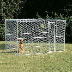 shop midwest pets 10 ft x 6 ft x 6 ft outdoor dog kennel With lowes outdoor dog pens