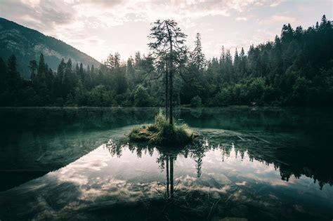 mystic nature wallpaper wasser wolken