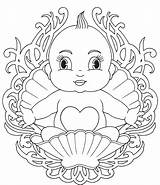 Coloring Pages Babies Printable sketch template