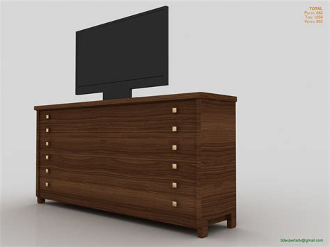 Bedroom Tv Cabinet by Bedroom Cabinet With Tv 3d Model
