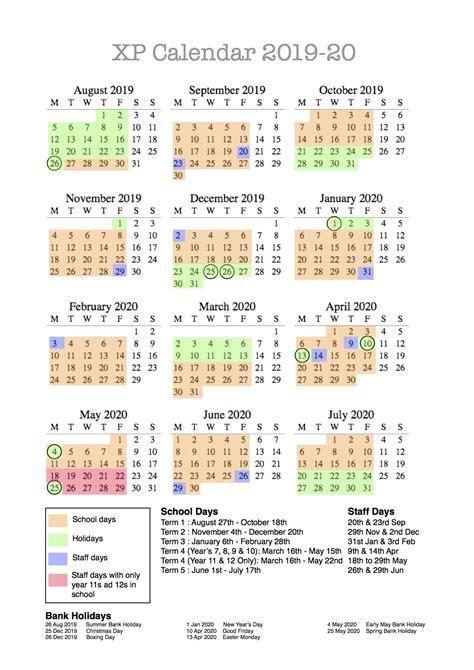 calendar xp school doncaster