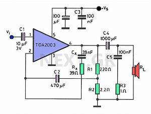 8w Amplifier With Tda2003 Circuit  With Images