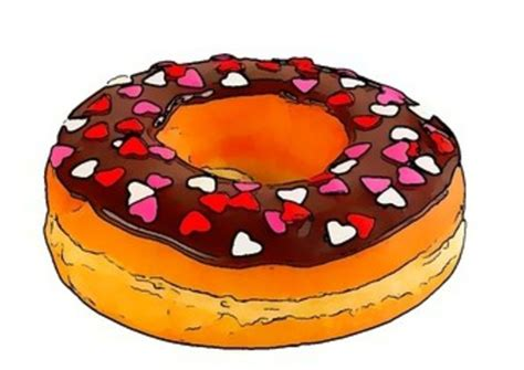 Donut Clipart Donut Free Images At Clker Vector Clip