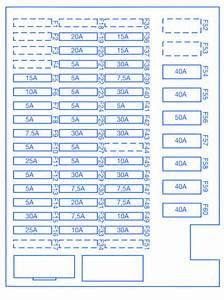 Bmw M6 Primary 2006 Fuse Box  Block Circuit Breaker Diagram