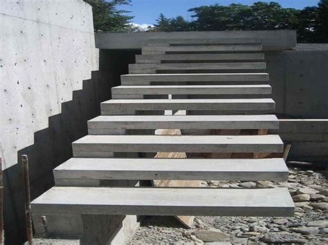Concrete Stairs Design Outdoor Modern Concrete Exterior
