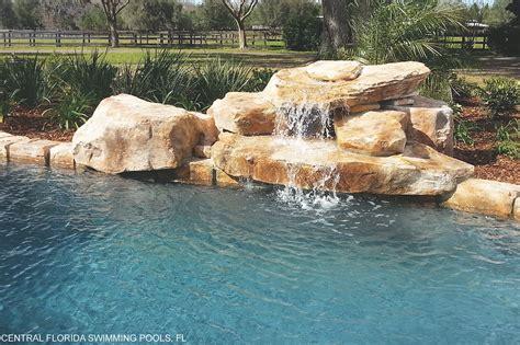 rico rock introduces   modular waterfall pool spa news