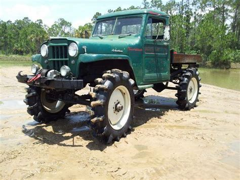 willys jeep truck lifted willys mud truck jeep willys mud mudtruck 4x4