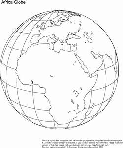 Best Photos of Globe World Map Outline - World Globe Map ...