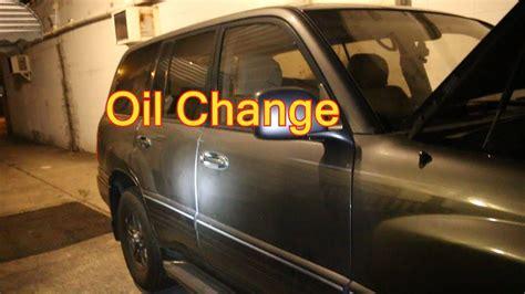 quick oil change   lx youtube