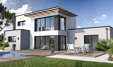 Construire Une Maison Moderne  Le Monde De Léa