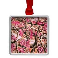 i love pink camo christmas tree ornament zazzle