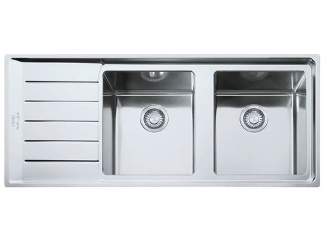 lavello acciaio inox npx 621 by franke design bruno barbieri