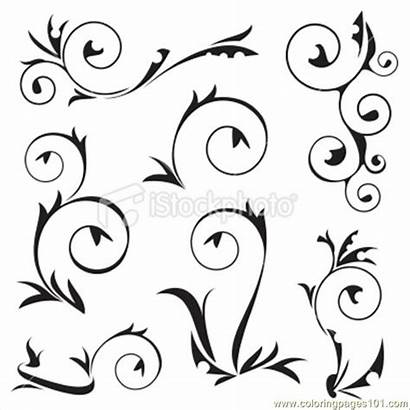 Decoration Frame Coloring Decorations Pages Printable Coloringpages101