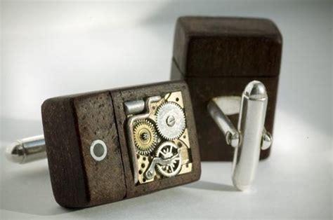 steampunk usb flash drive cufflinks gadgetsin