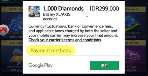 Cara Membeli Diamond Mobile Legend Via Pulsa
