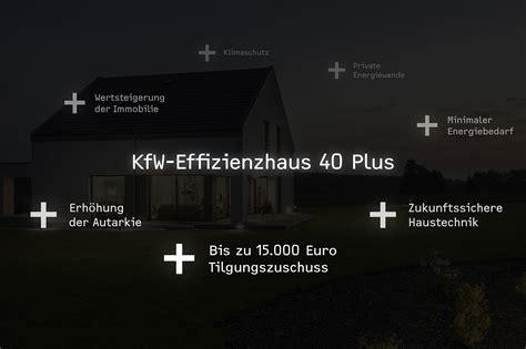 Kfw Effizienzhaus 40 Bauen Fuer Die Zukunft by Ish Pressemappe Kfw 40 Plus Stiebel Eltron Pressemitteilung