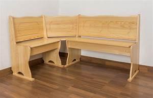 Eckbank Aus Holz : eckbank kiefer massiv vollholz natur junco 243 abmessung ~ Watch28wear.com Haus und Dekorationen