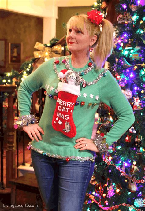 Decorating Ideas For Sweaters by Tacky Sweater Decorating Ideas Psoriasisguru