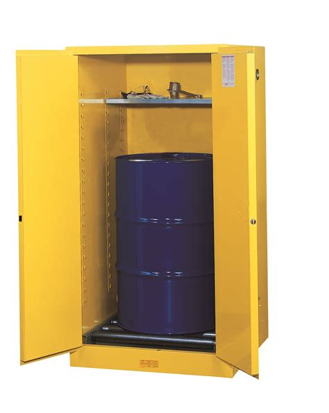 justrite 1 vertical drum sure grip manual cabinet handle