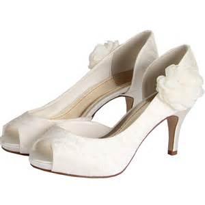 chaussure mariage chaussure mariage bout ouvert en dentelle gala par else