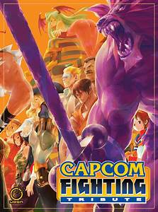 Capcom Fighting Tribute Art Book Now In Stores