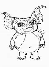 Gremlins Coloring Pages Gizmo Drawing Printable Adult Draw Fantasy Mogwai Movies Drawings Colors Books Popular Step Rock Getdrawings Uteer Discover sketch template
