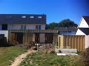 Extension Ossature Bois : extension en ossature bois ralus ~ Melissatoandfro.com Idées de Décoration