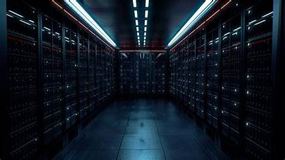 Server Dark Warehouse Datacenter Lights Computer Wallpapers