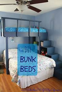 [ Bunk Rooms Diy Beds For Boys Room Kids Bed Ideas Tiny ...