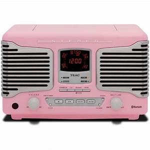 Radio Reveil Vintage : teac sl d800bt radio r veil cd usb bluetooth 3 0 blanc silver noir rouge ou rose ~ Teatrodelosmanantiales.com Idées de Décoration