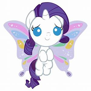 Rarity As A Baby My Little Pony Friendship Is Magic