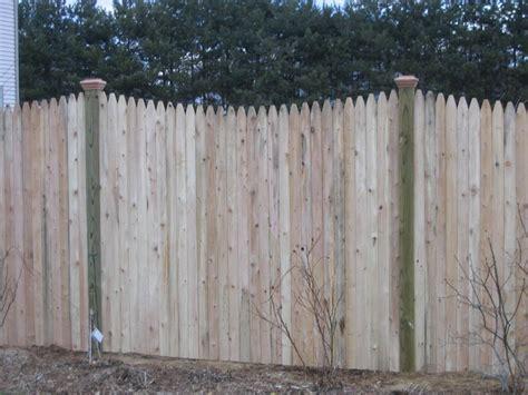 Rustic Stockade Fence Panels