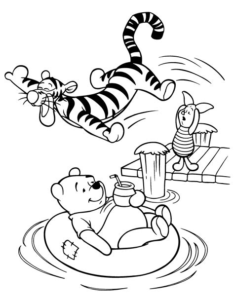 Coloring Page Winnie The Pooh Coloring Pages 118