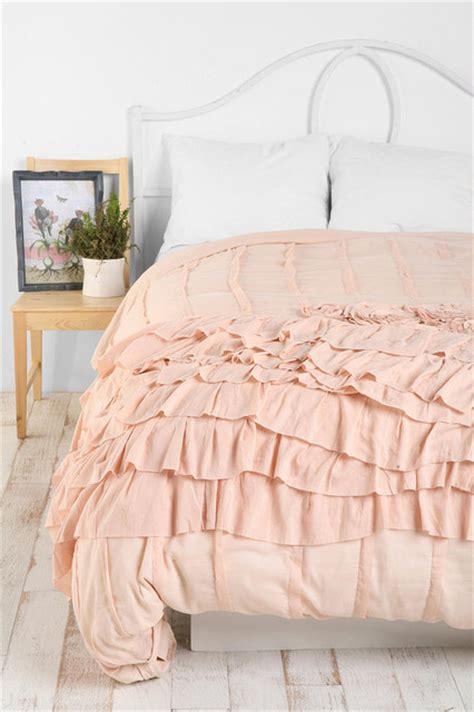 ruffle duvet cover rosette ruffle duvet cover eclectic duvet covers and