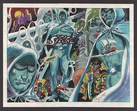 Jerry Grandenetti Comic Art For Sale From Comic Art Art By Pieces Alien Glass Angel Dundee Halloween Workshops Pixel Qui Fait Peur Block Ll Free Mirror Nyc Framed Liquid Wall