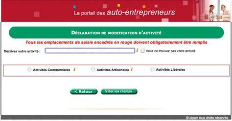 Modification De Code Ape by Graphiste Auto Entrepreneur Code Ape