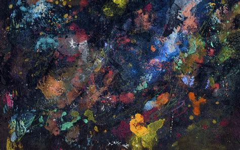 Abstract Canvas Wallpaper by Painting Abstract Canvas Splatter Hd Wallpaper And
