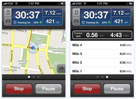 iphone pedometer run tracking app runkeeper pro is free
