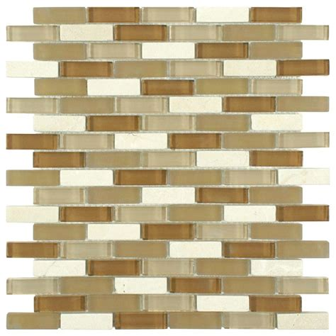 Home Depot Merola Subway Tile by Merola Tile Tessera Subway Latte 11 3 4 In X 11 3 4 In X