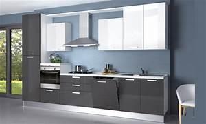 cucina moderna come foto creo alma laccata lucida 360 With cucine creo lucide