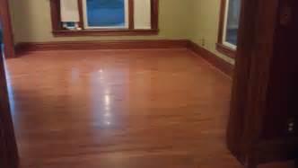 refinishing laminate wood floors