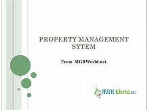 Mgh Property Management System Ppt