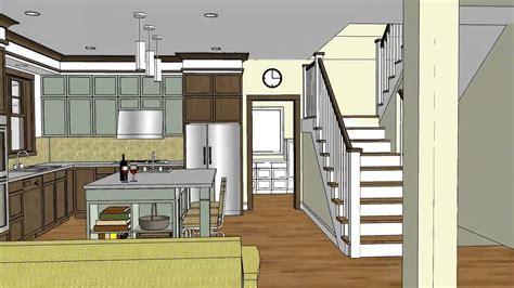 unique craftsman home design open floor plan stillwater craftsman youtube