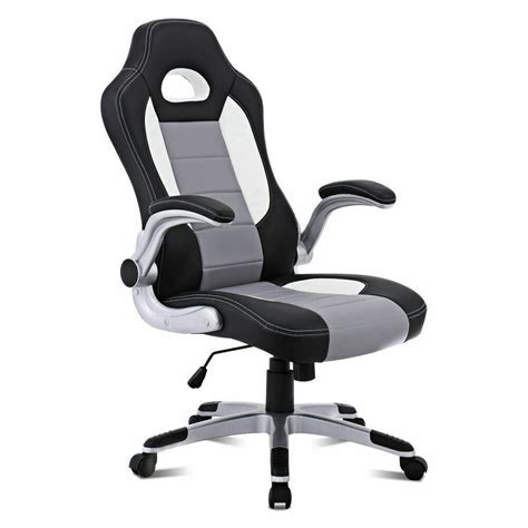 chairs desk pu leather executive racing style seat chair sporty