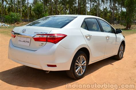 Review Toyota Corolla Altis by 2014 Toyota Corolla Altis Diesel Review Rear Quarters