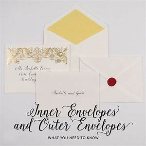 wedding invitation wording etiquette outer envelope With wedding invitation etiquette outer and inner envelopes