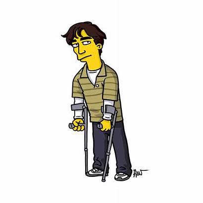 Bad Simpsons Breaking Characters Simpsonized Jr Walter